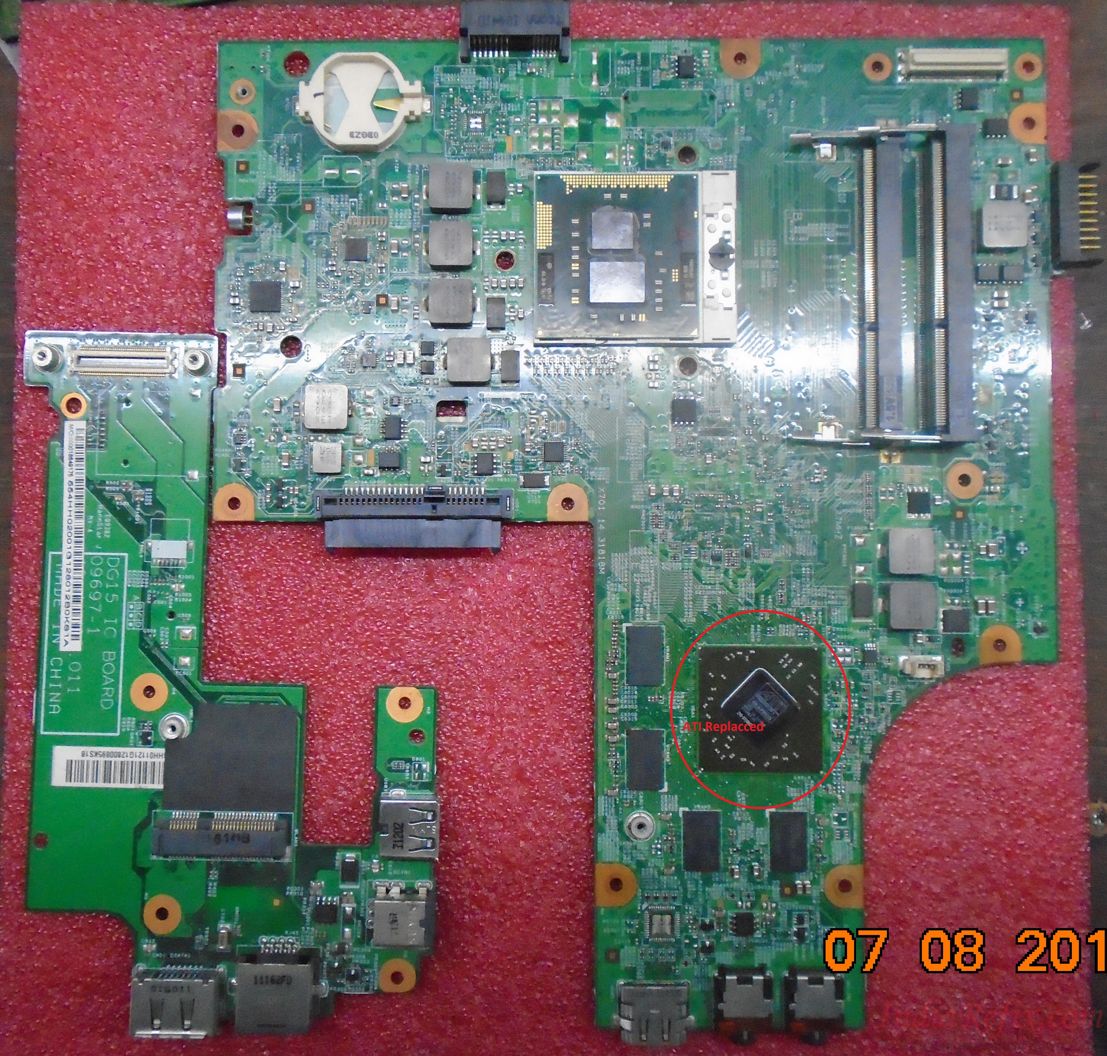 67) Dell Insprion N5010 No Display Continues 3 beep sound Case